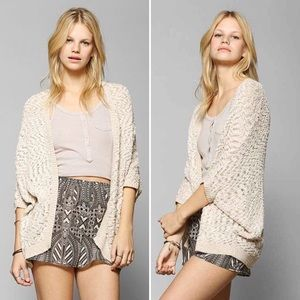 Staring at Stars | Ivory Open-Front Ava Cardigan